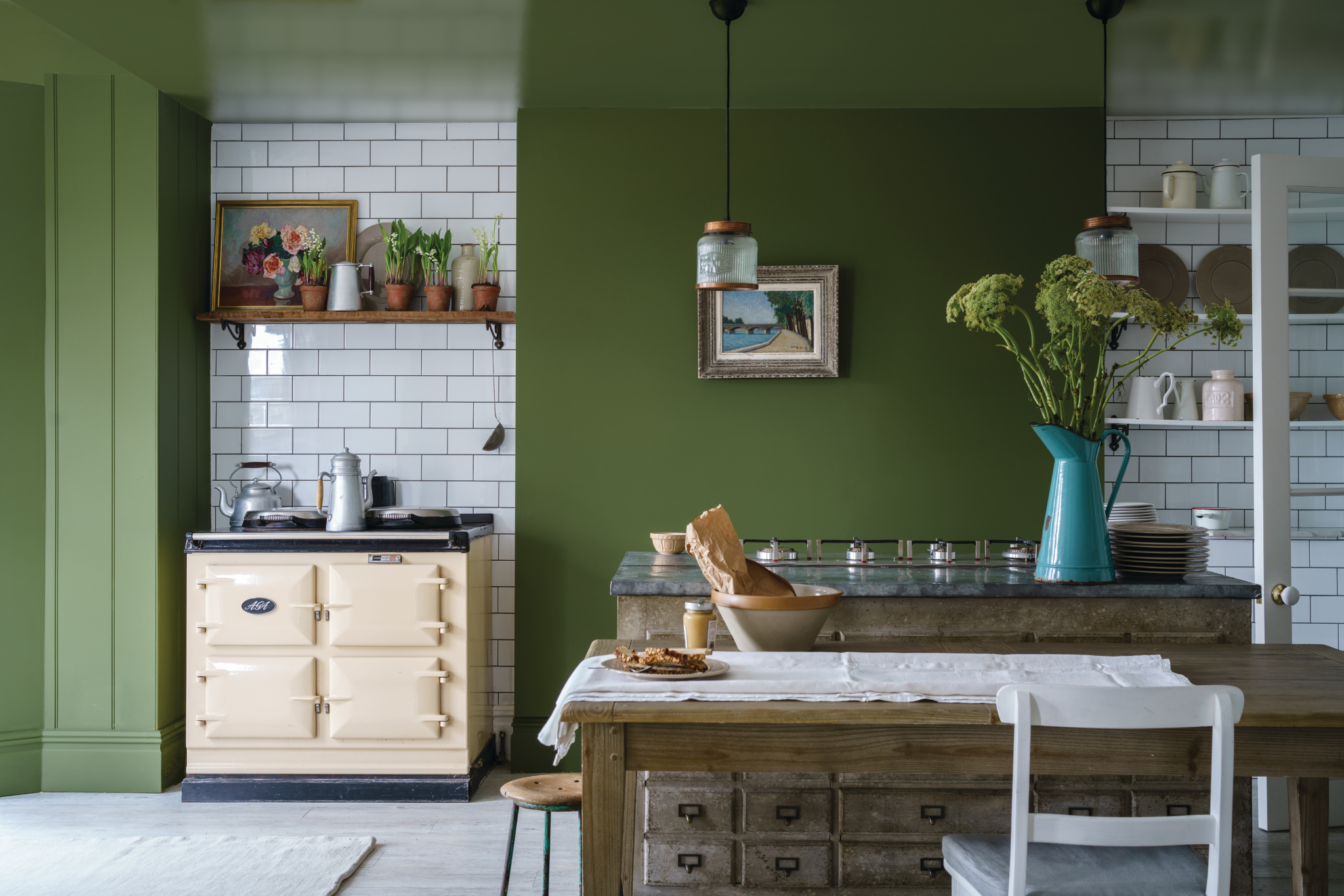 Farrow and Ball Farben Bancha 298 Modern