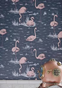 Cole and Son Icons Flamingos 112-11041