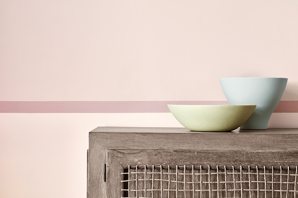Schimmelbekämpfung Little Greene Dorchester Pink_Stripe