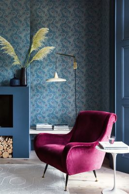 Little Greene Farbe Tapete Carlton House Terrace